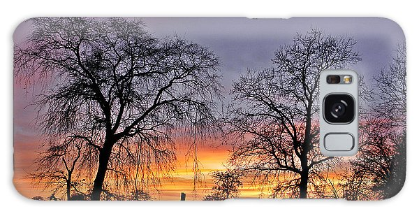 Sacramento Sunset Galaxy Case