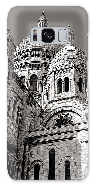 Sacred Heart Galaxy Case - Sacre Coeur Architecture  by Olivier Le Queinec