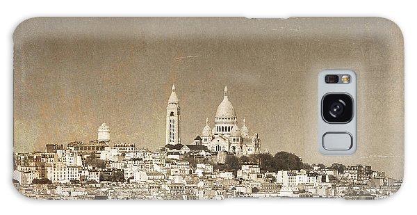 Sacre Coeur Basilica Of Montmartre In Paris Galaxy Case