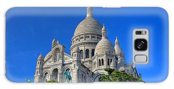 Sacred Heart Galaxy Case - Sacre Coeur Basilica by Olivier Le Queinec