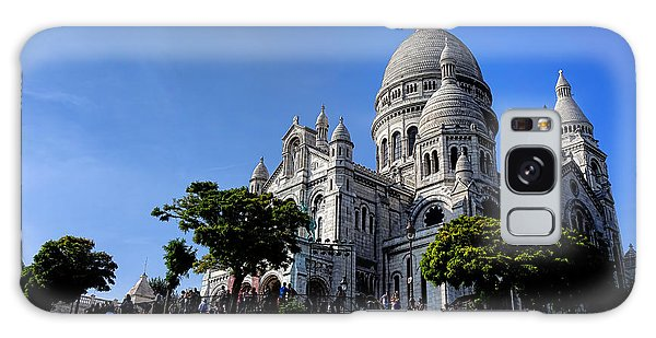 Sacred Heart Galaxy Case - Sacre Coeur On Butte Montmartre by Olivier Le Queinec