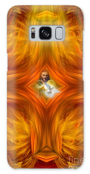 Sacred Cross Galaxy Case