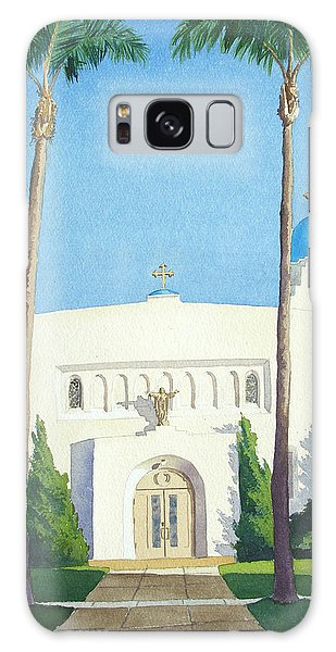 Sacred Heart Church Coronado Galaxy Case
