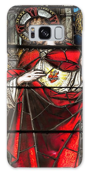 Sacred Heart Of Jesus Galaxy Case