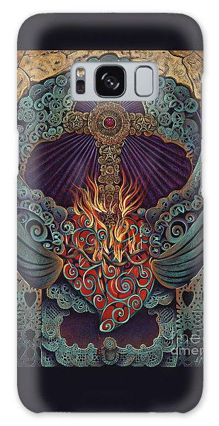 Sacred Heart Galaxy Case