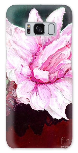 Sacred Pink Lotus  Galaxy Case