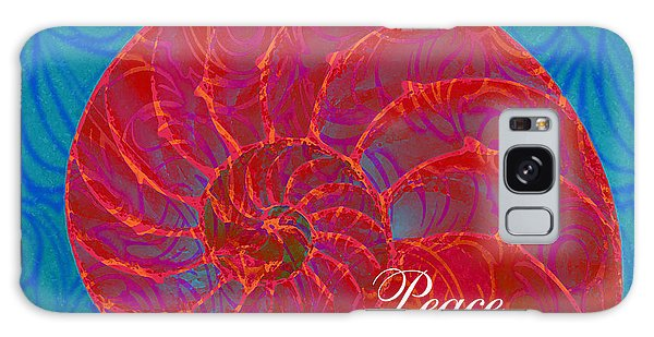 Sacred Place - Print Galaxy Case