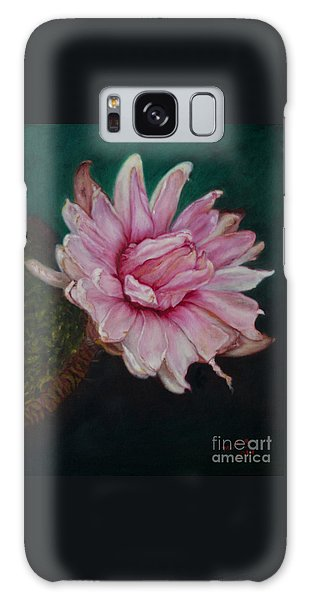 Sacred Red Lotus Galaxy Case