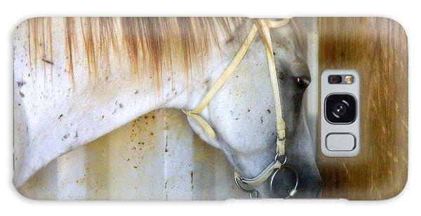 Saddle Break Galaxy Case by Kathy Barney