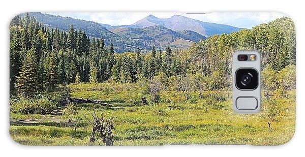 Galaxy Case featuring the photograph Saddle Mountain by Ann E Robson
