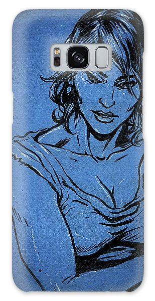 Sadie Blue Galaxy Case