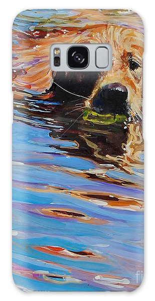 Sadie Has A Ball Galaxy Case by Molly Poole