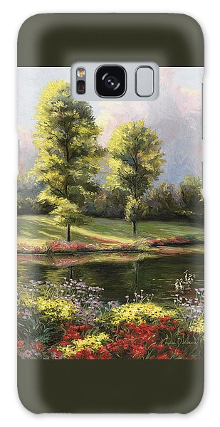 Scenery Galaxy Case - Safe Haven 1 by Lucie Bilodeau