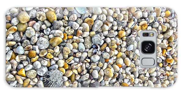 Sag Harbor Rocky Bay Beach Galaxy Case