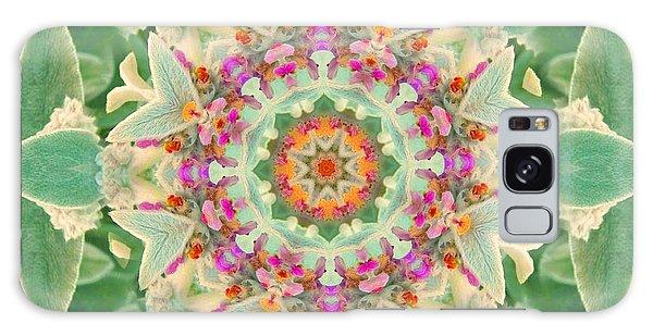 Sage Flower Mandala Galaxy Case