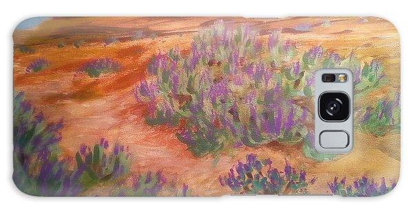 Sagebrush In Spring Galaxy Case