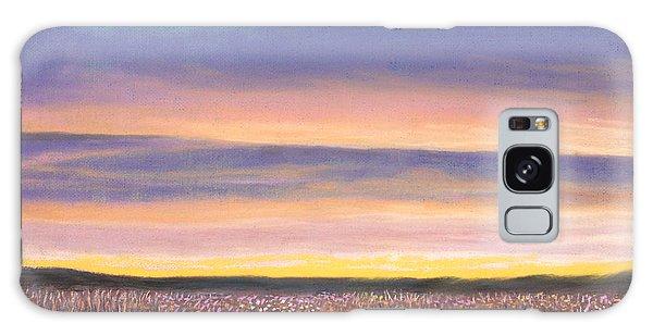 Sagebrush Sunset A Galaxy Case