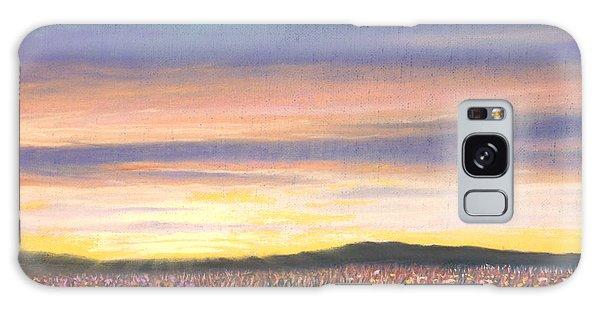 Sagebrush Sunset B Galaxy Case