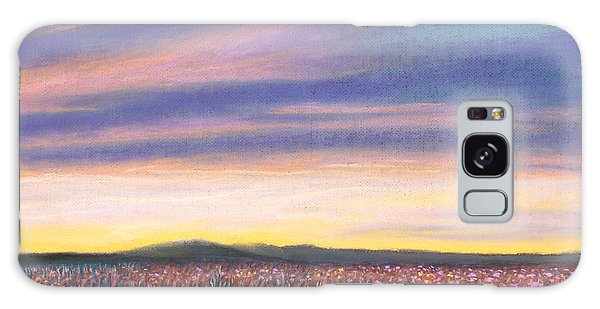 Sagebrush Sunset C Galaxy Case