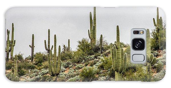 Desert Flora Galaxy Case - Saguaro Cactus  by Bill Gallagher