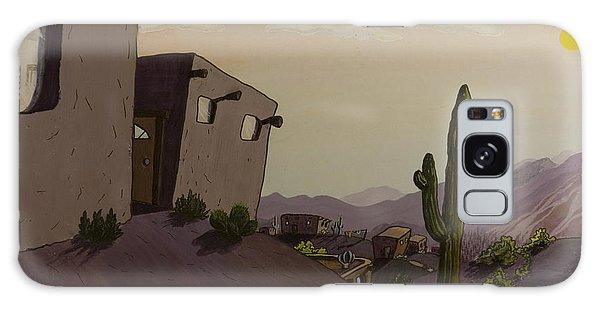 Saguaro Sunset Galaxy Case