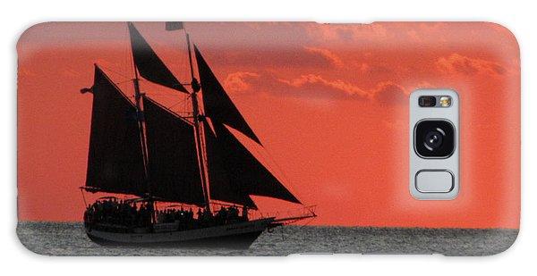 Key West Sunset Sail 5 Galaxy Case