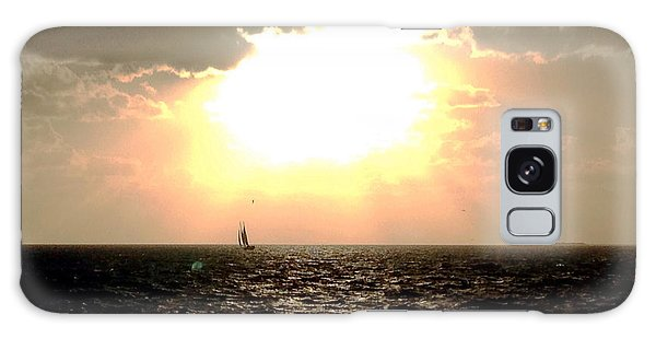 Sail Away Key West Galaxy Case