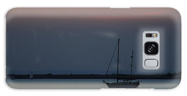 Sail Boat Port Jefferson New York Galaxy Case
