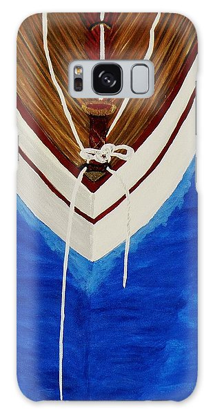 Sail On Galaxy Case by Celeste Manning