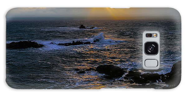 Sail Rock Sunrise Galaxy Case by Marty Saccone