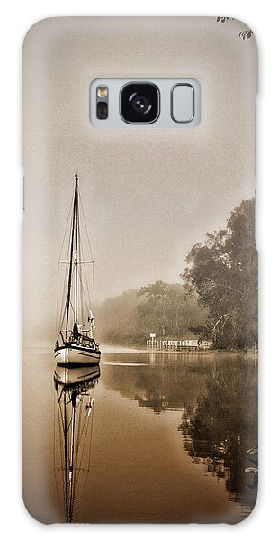 Conyers Galaxy Case - Sailbaot In The Fog by Dale Conyers