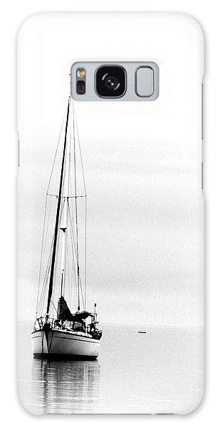 Sailboat Bw Too Galaxy Case