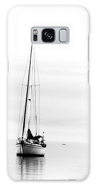 Sailboat Bw Too Galaxy Case
