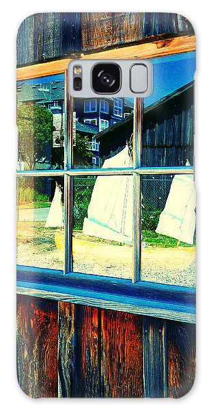 Sailboat In Window 2 Galaxy Case