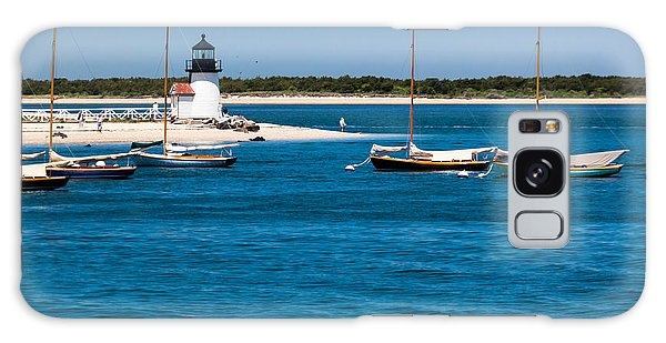 Sailboats And Brant Point Lighthouse Nantucket Galaxy Case