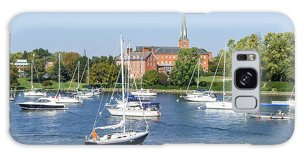 Sailboats By Charles Carroll House Galaxy Case