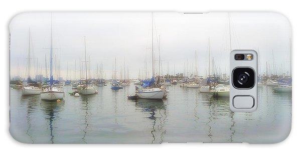 Sailboats On San Diego Bay Galaxy Case