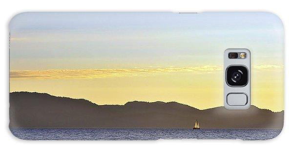 Sailing At Sunset - Lake Tahoe Galaxy Case
