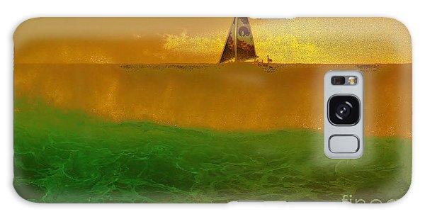 Sailing Away Galaxy Case by Craig Wood