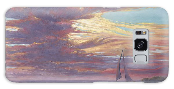 Florida Galaxy Case - Sailing Away by Lucie Bilodeau
