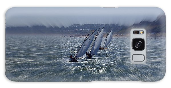 Sailing Boats Racing Galaxy Case