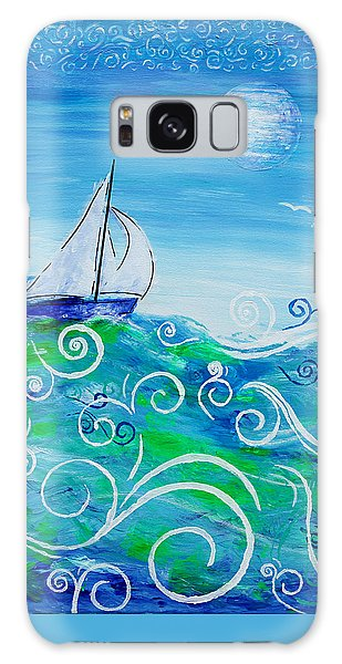 Sailing By Jan Marvin Galaxy Case