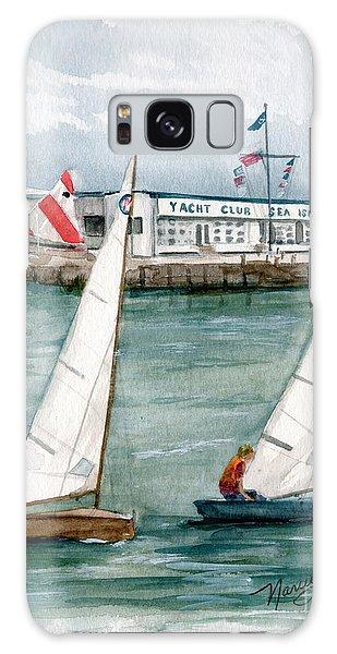 Sailing Class  Galaxy Case by Nancy Patterson