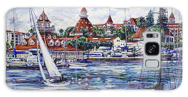 Sailing Glorietta Bay Galaxy Case