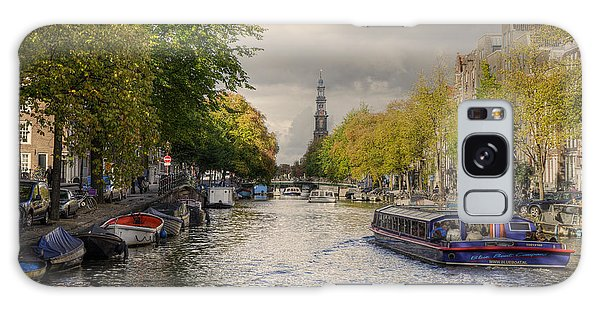 Sailing In Amsterdam Galaxy Case