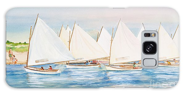 Sailing In The Summertime II Galaxy Case by Michelle Wiarda
