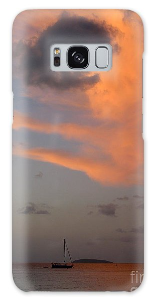 Sundown Over Trunk Bay Galaxy Case