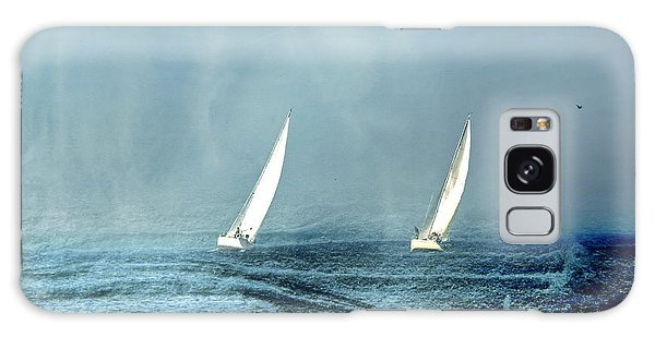 Sailing Into The Unknown Galaxy Case by Andrea Kollo