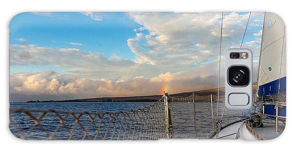 Sailing Lahaina Bay Galaxy Case