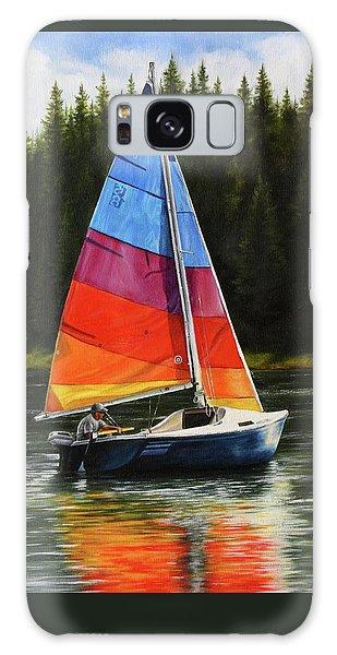 Sailing On Flathead Galaxy Case
